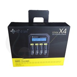 Efan X4 4 way LCD Digital battery charger