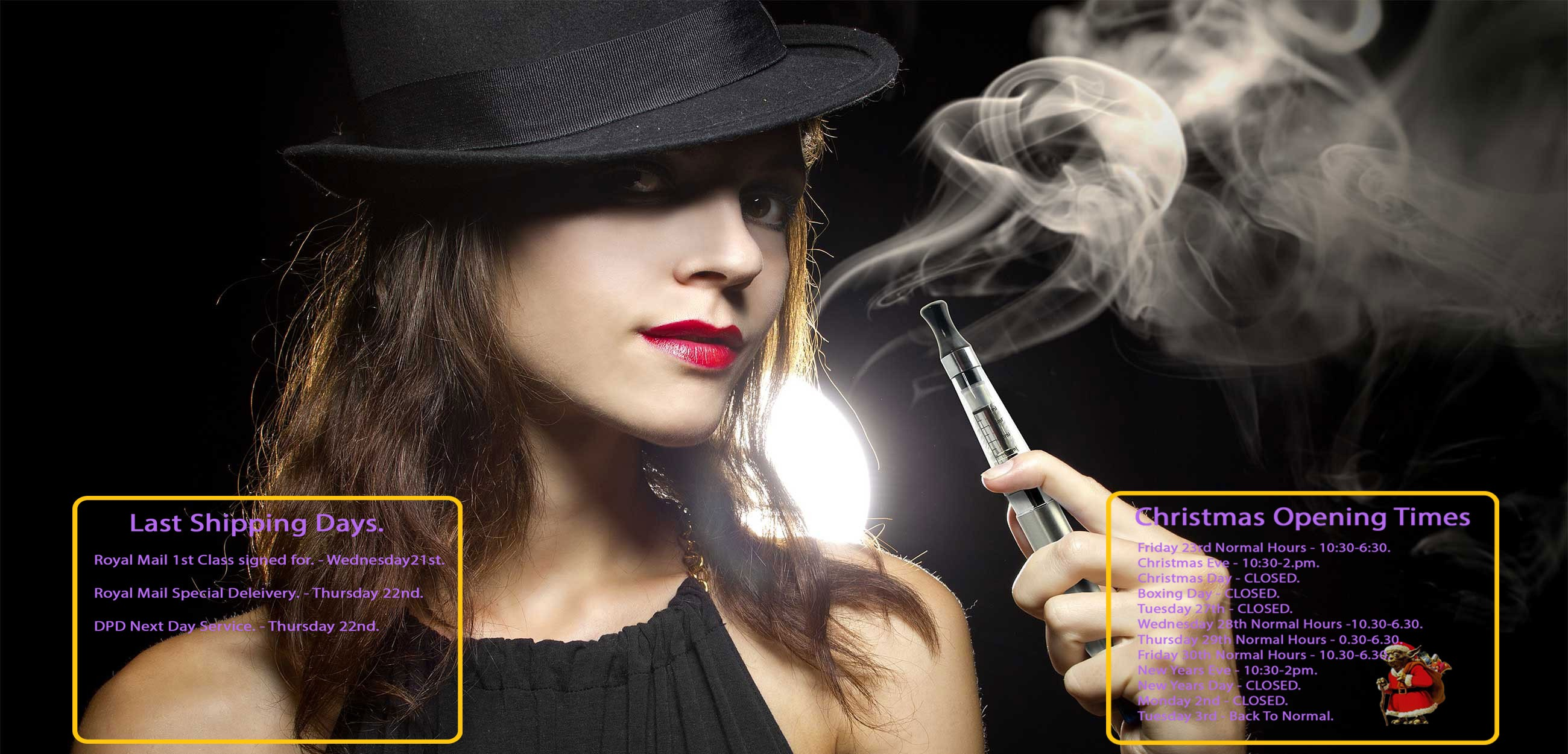 Lady Vaping