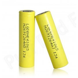 LGDBHE4 18650 2500mAh Rechargable battery