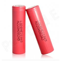 LGDBHE2 18650 2500mAh 35amp Rechargable battery