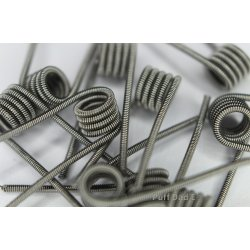 Pre Made Clapton coils 0.5 ohm & 0.55ohm 10 pack