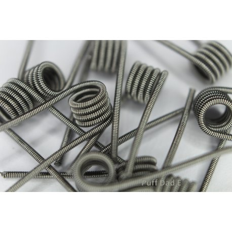 Pre Made Clapton Coils 0.5 ohm and 0.55ohm