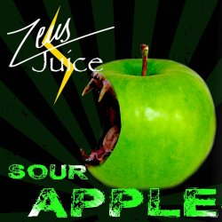 Zeus Juice Sour Apple 10ml 50/50 and High VG