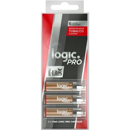 Logic Pro Red Brazillian bold Capsules 3 Pack