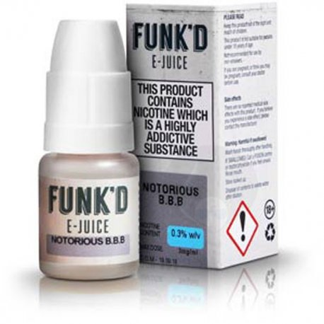 FUNK'D E Juice Notorious BBB 10ml