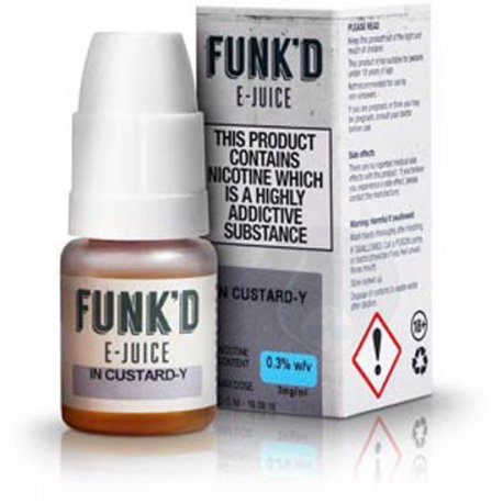 FUNK'D E Juice In Custard-Y 10ml