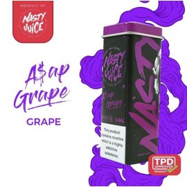 Nasty Juice, A$AP GRAPE 10ml TPD Ready