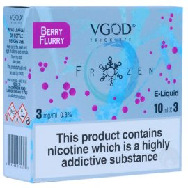 VGOD berry flurry 3 x 10ml Bottles