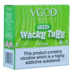 VGOD Green Wacky Taffy 3 x 10ml Bottles