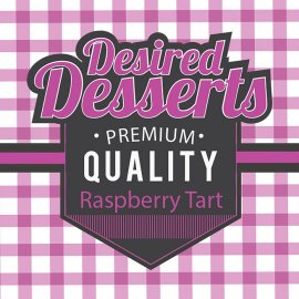 Exceptional Vapes raspberry Tart Dessert Range 50ml
