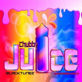 Chubby Juice Black Tunez 100ml zero Nicotine