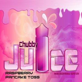 Chubby Juice Raspberry Pancake Toss 100ml zero Nicotine