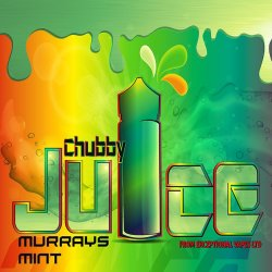 Chubby Murrays Mint 100ml zero Nicotine