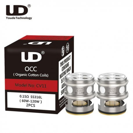 UD Athlon Mini 22 Replacement Coils MOCC CV01