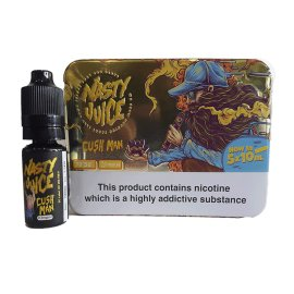 Nasty Juice, cush man 5x0ml TPD Ready