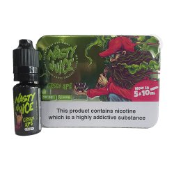 Nasty Juice, GREEN APE 5 pack TPD Ready