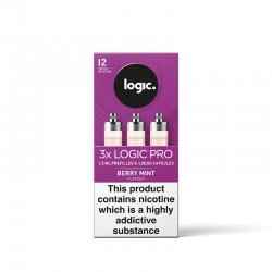 Logic Pro Berry Mint Capsules 3 Pack