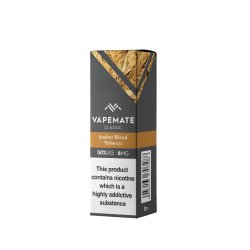 Vape Mate Amber blend Tobacco 10ml