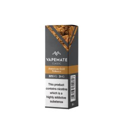 Vape Mate American Gold Tobacco 10ml