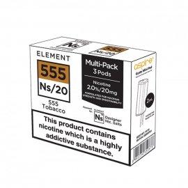 ELEMENT NS20 Gusto Pod 555 Tobacco