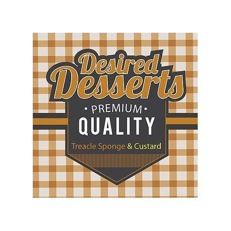 Exceptional Vapes Treacle Sponge & Custard Dessert Range 50ml