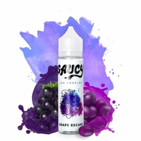 Saucy Grape Escape 60ml