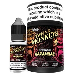Harambae By Twelve Monkeys 3 x 10ml