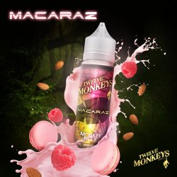 Twelve Monkeys Macaraz 50ml Shortfill