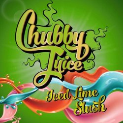 Chubby Juice Iced Lime 100ml zero Nicotine