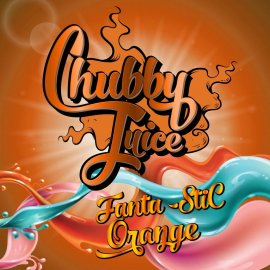 Chubby Juice Fanta-stic Orange 100ml