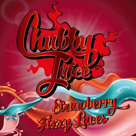 Chubby Strawberry Fizzy Laces 100ml zero Nicotine