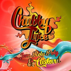 Chubby Juice Jam Roly Poly and Custard 100ml zero Nicotine