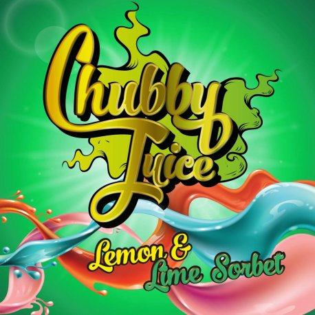Chubby Juice Lemon Sorbet 100ml