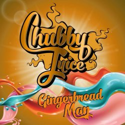 Chubby Juice Gingerbread Man 100ml zero Nicotine