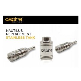Aspire Nautilus Stainless Steel Tank section