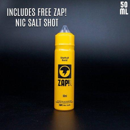 Zap Juice Starfruit Burst 3x10ml Bottles