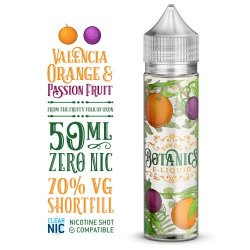 Botanics Sweetwater Grape & White Peach 50ml Shortfill