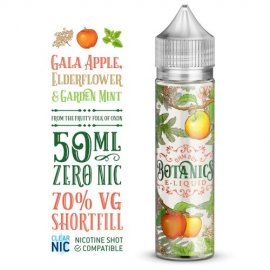 Botanics Gala Apple, Elderflower & Garden Mint 50ml Shortfill