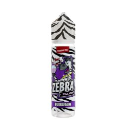 Zebra Juice Bubblegum 50ml Shortfill
