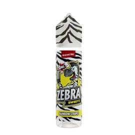 Zebra Juice Rainbow Stripes 50ml Shortfill