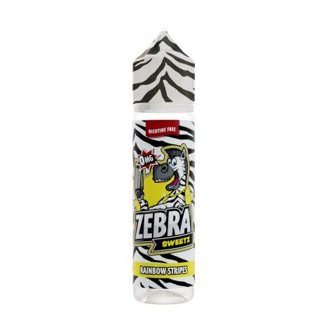 Zebra Juice Rainbow Stripes 50ml Shortfill