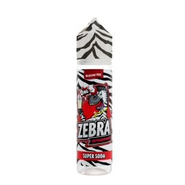 Zebra Juice Super Soda 50ml Shortfill