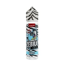 Zebra Juice Black Z 50ml Shortfill