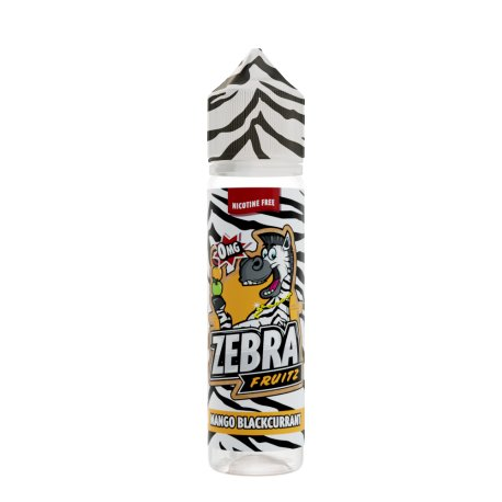 Zebra Juice Mango Blackcurrant 50ml Shortfill