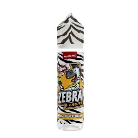 Zebra Juice Mango Blackcurrant 50ml Shortfill