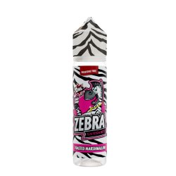 Zebra Juice Marshmallow Cake 50ml Shortfill