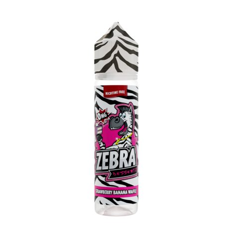 Zebra Juice Strawberry Banana Waffle 50ml Shortfill