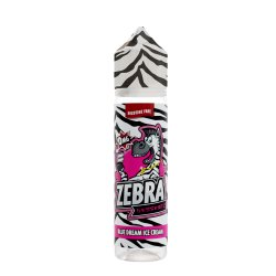 Zebra Juice Blue Dream Ice Cream 50ml Shortfill
