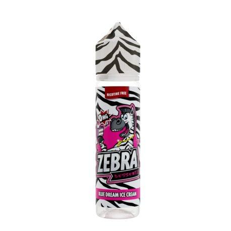 Zebra Juice Blue Dream Ice Cream 50ml Shortfill