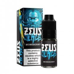 Zeus Juice Monkberry 10ml 50/50 and High VG